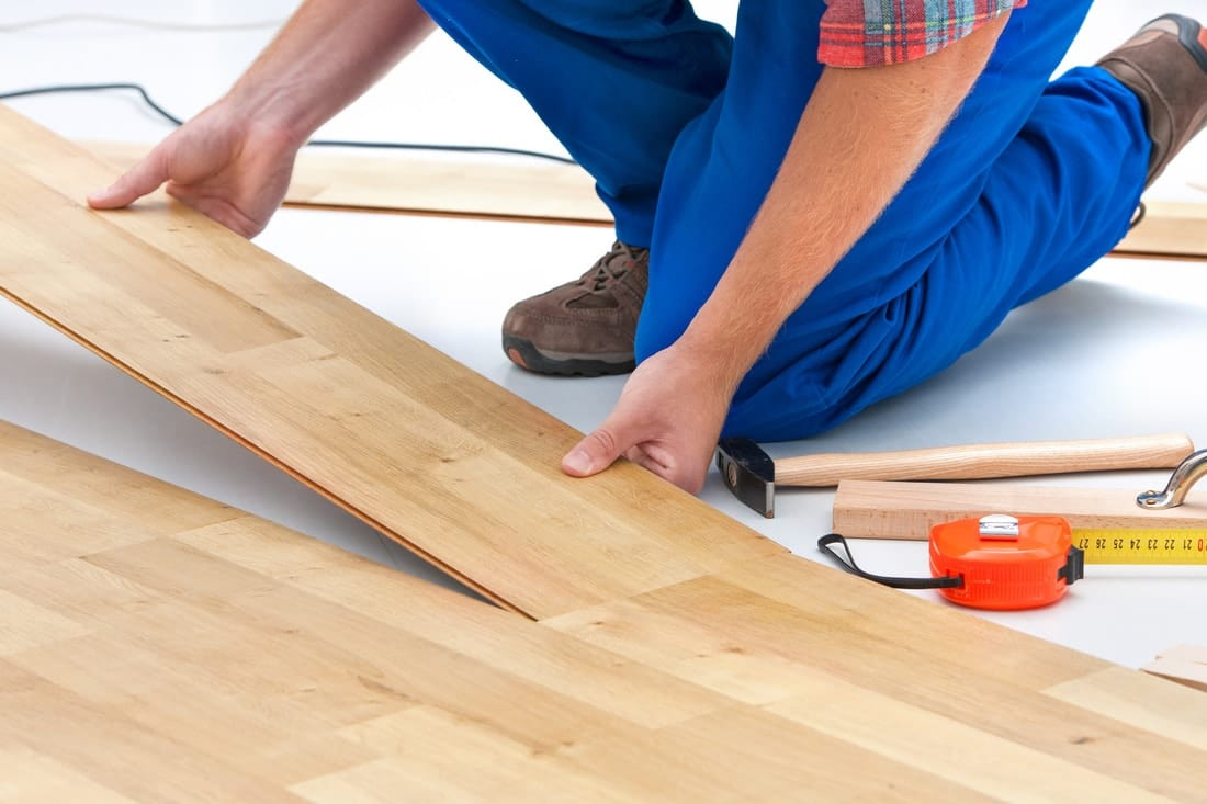 how to install a hard floor