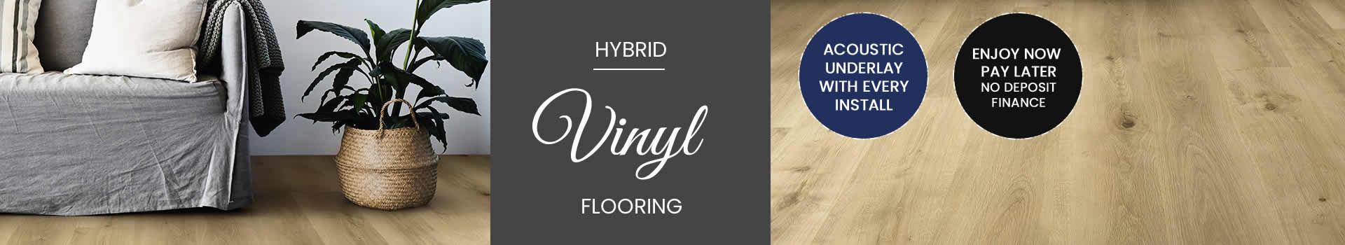 Melbourne Hybrid vinyl planks