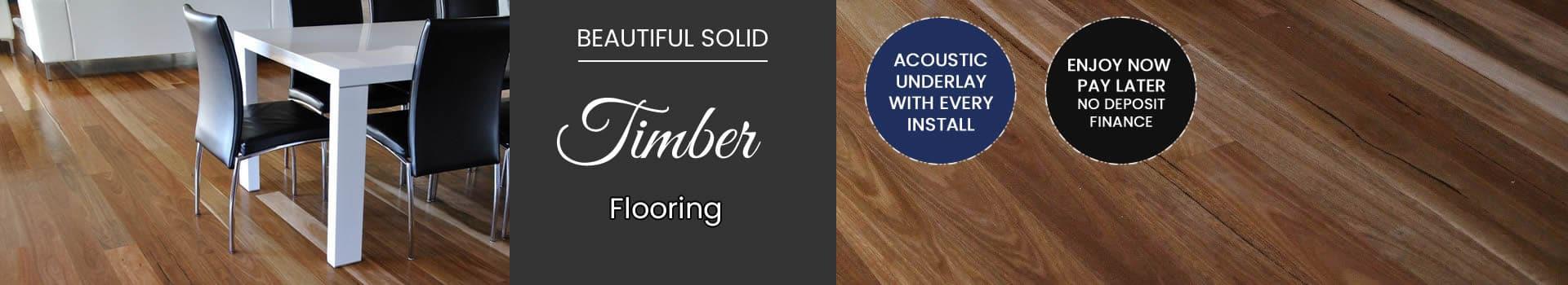 Melbourne solid hardwood floors