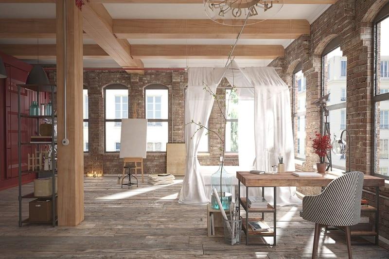 hardwood solid floor